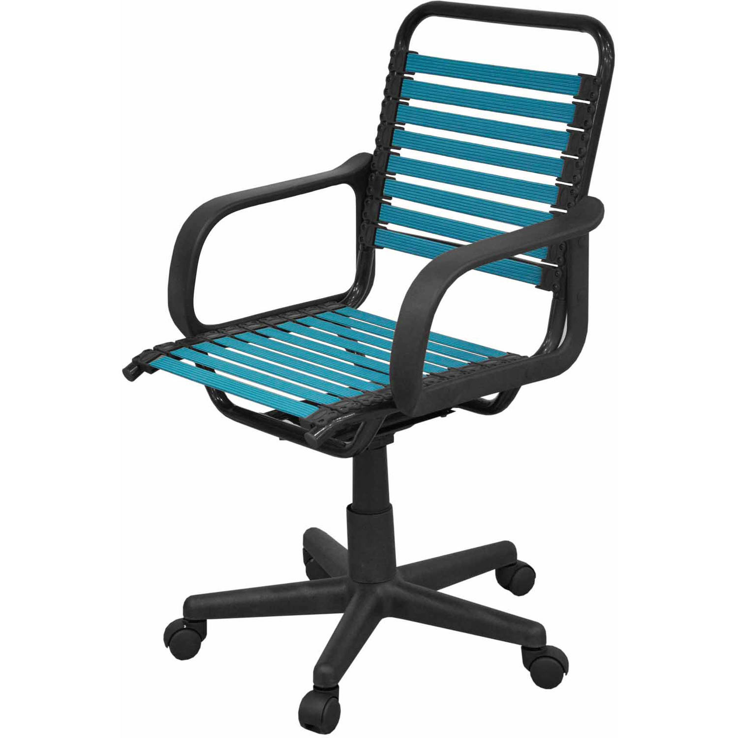 Charmant ... Your Zone Bungee Office Chair, Turquiose
