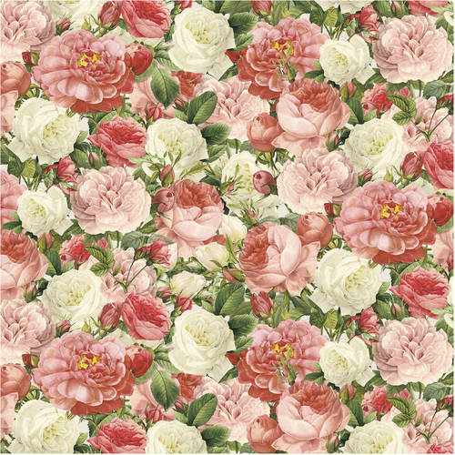 """David Textiles Love Paris Collection 44"""" Quilting Cotton Fabric By The Yard"""