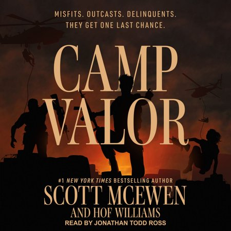 Camp Valor - Audiobook (Young Living Valor)