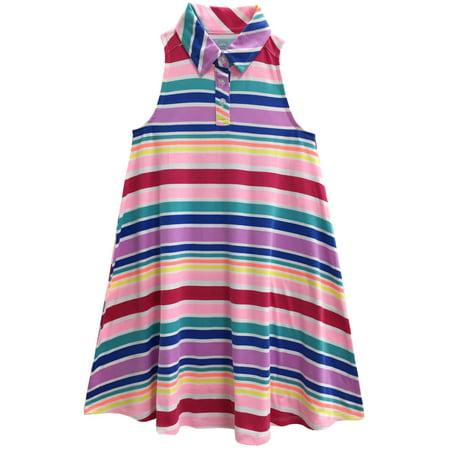 Girls' A-Line Shirt Dress for $<!---->