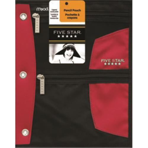 Acco Brands Usa Llc 50642 Five Star First Gear Zipper Pencil Pouch 9x11 Asst