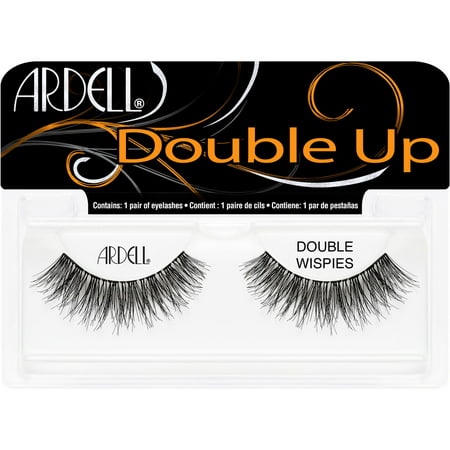Ardell Eyelash Wispies DoubleUp Black - 1ct