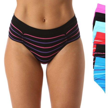 6P-33013-XXXL Just Intimates Boylegs / Panties for Women (Pack of 6)