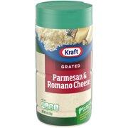 Kraft Grated Parmesan and Romano Cheese, 8 oz Jar