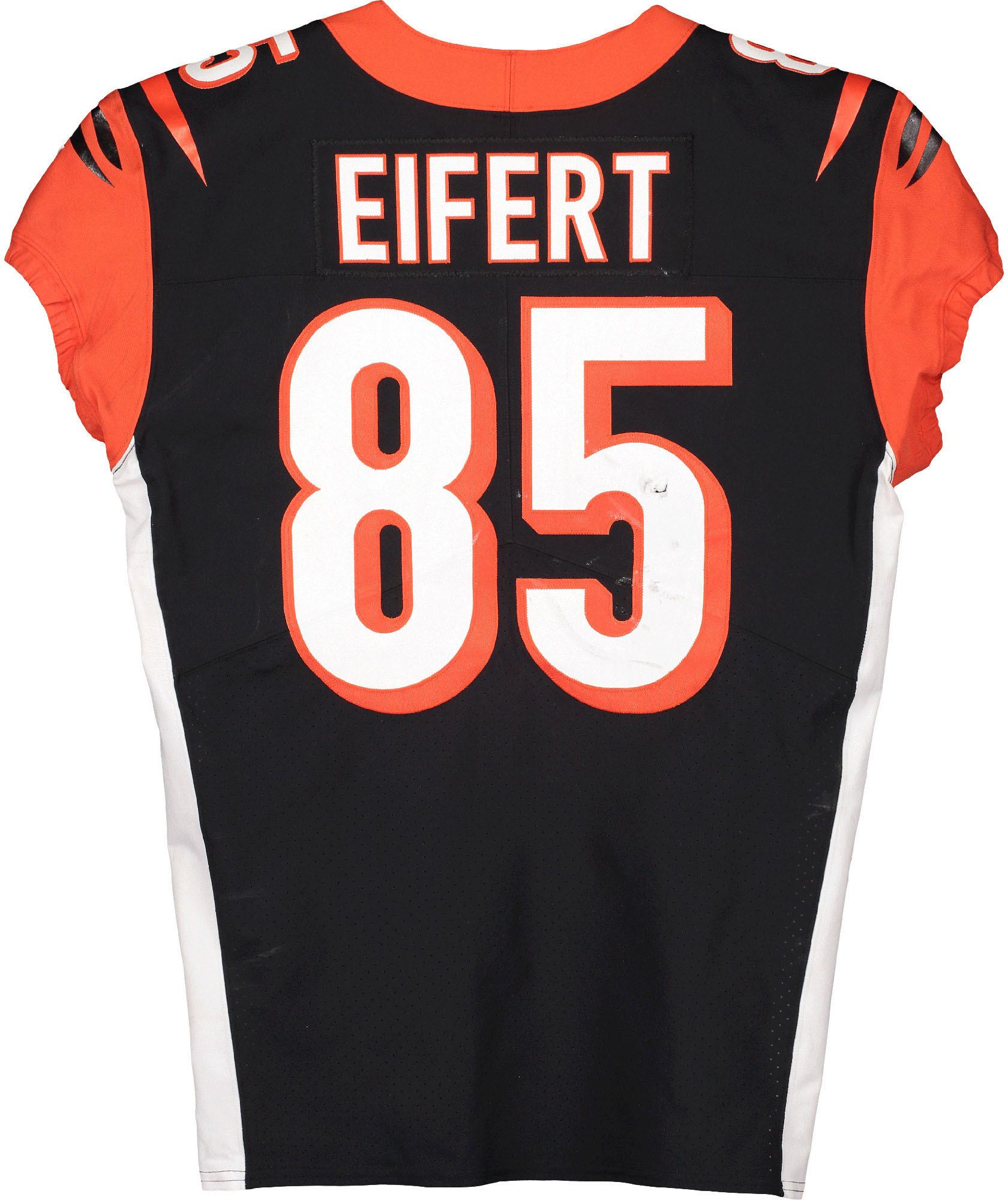 Tyler Eifert Cincinnati Bengals Game-Used #85 Black Jersey vs. Buffalo Bills on September 22, 2019 - Fanatics Authentic Certified - Walmart.com