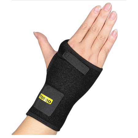 - Wrist Support Black Wrist Brace With Support Splint Adjustable Wrist Wraps Wrist Protection Night Support Recovery From Pain Carpal Tunnel Tendonitis Arthritis Valentine'S Day Gift