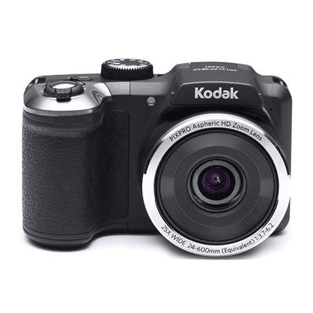 "Kodak PIXPRO Astro Zoom AZ251-BK 16MP Digital Camera with 25X Optical Zoom and 3"" LCD Screen Black"