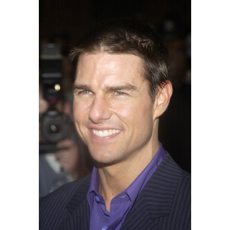 Tom Cruise At The Premiere Of Collateral At The Urban World Film Festival On August 4 2004 In New York Photo Print