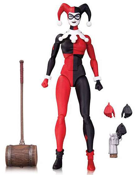 DC Comics Icons Series 3 Harley Quinn Action Figure by DC Collectibles