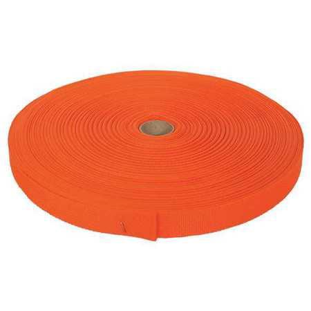 BULK-STRAP P34300OR Bulk Strap Webbing,300 ft x 3/4 In,375lb