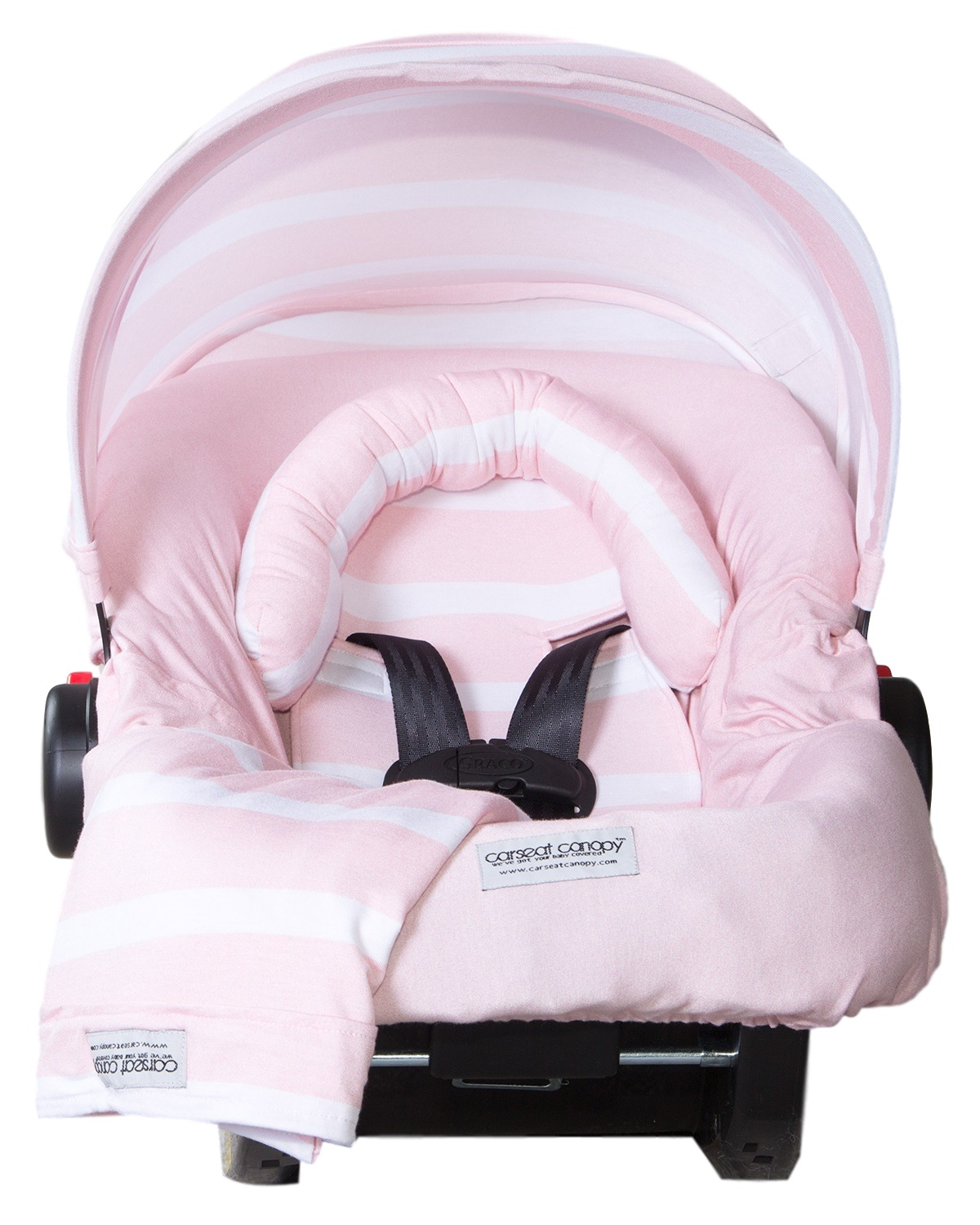 Carseat Canopy 5 pc Whole Caboodle Baby Car seat Cover set Jersey Stretch - Pink Stripes  sc 1 st  Walmart & Carseat Canopy 5 pc Whole Caboodle Baby Car seat Cover set Jersey ...