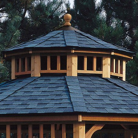 Handy Home San Marino Two-Tier Roof for 12' W Gazebo
