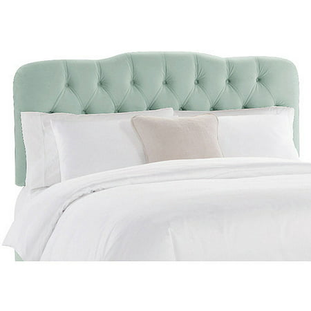 Skyline Furniture Pool Tufted Velvet Headboard, Multiple Sizes