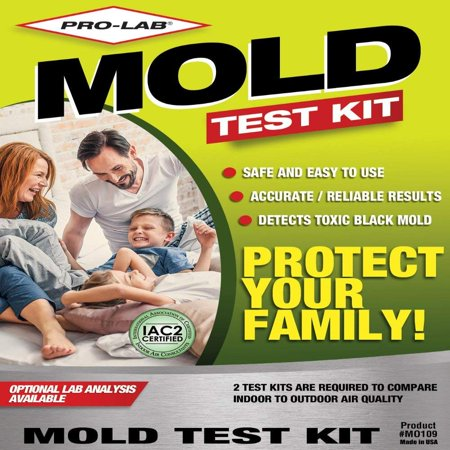 Pro-Lab MO109 Mold Do It Yourself Test Kit, This mold test kit should be used as your first step in identifying toxic mold spores that could be harmful to your.., By ProLab