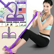 Multi-Function Tension Rope Fitness Pedal Exerciser Auxiliary Rope Pull Bands
