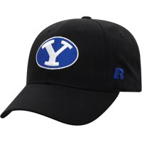 Men's Russell Athletic Black BYU Cougars Endless Adjustable Hat - OSFA