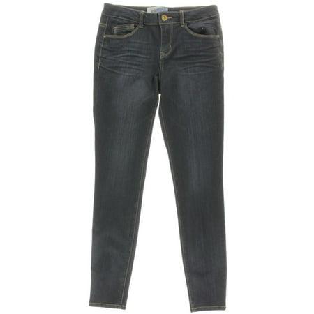 af6635751d4 Jolt - Jolt Womens Juniors Low-Rise Dark Wash Skinny Jeans - Walmart.com
