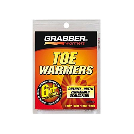 Grabber Warmers ECTWFL 10 Pack 3in. x 4in. 6+ Hour Toe