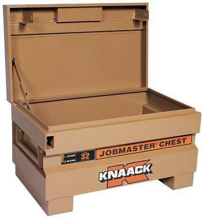 Knaack JOBMASTER Jobsite Chest, Steel, Tan, 32