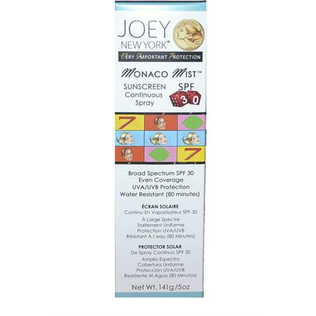 Joey New York VIP Collection Monaco Mist Sunscreen SPF 30 ()