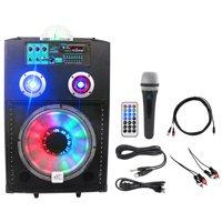 "NYC Acoustics Active 12"" Karaoke Machine/System 4 ipad/iphone/Android/Laptop/TV"