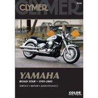 Clymer Repair Manuals for Yamaha Road Star Silverado XV1600AT 1999-2003