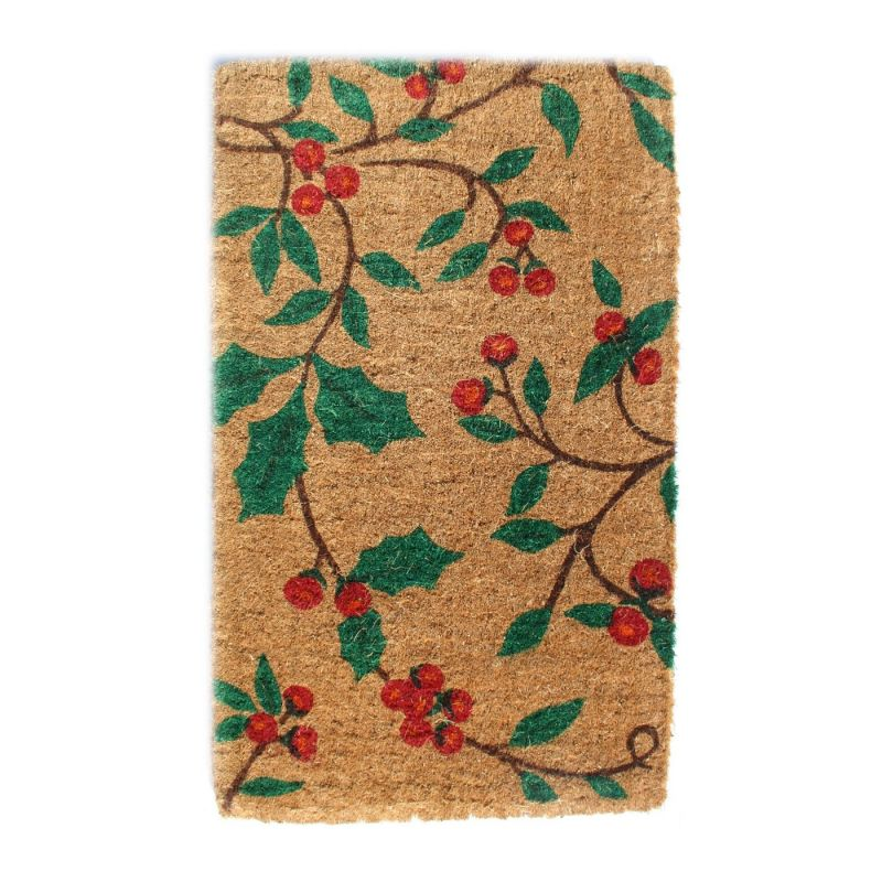 Imports Decor 685 TCM Holly Princess Door Welcome Mat