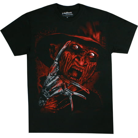 Nightmare on Elm Street Freddy Krueger Airbrushed Face Men's Shirt - Is Freddy Krueger Real