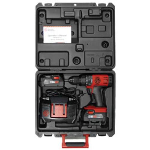 """Chicago Pneumatic CPT-8548K Pneumatic Compact 1 2"""" Hammer Drill Driver Pack by Chicago Pneumatic"""