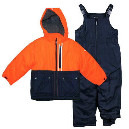 5ee334cff Oshkosh B gosh - OshKosh Boys Snowsuit Warm Winter Coat and Snow Bib ...