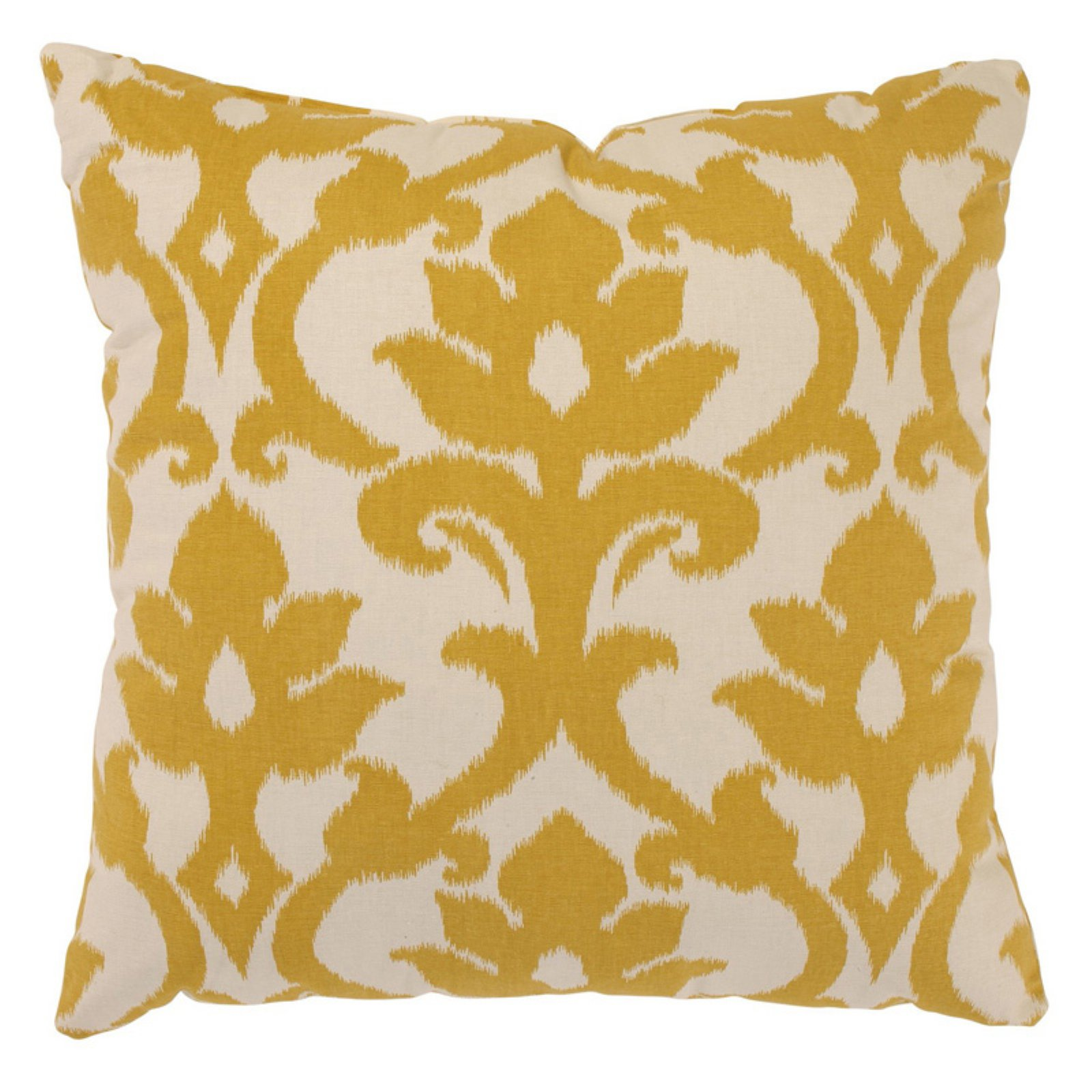 Pillow Perfect Azzure Marigold Throw Pillow
