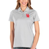 Houston Cougars Antigua Women's Balance Polo - White