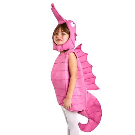 Toddler Pink Sea Horse Costume - Horse Halloween Costumes For Babies
