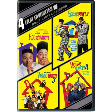 4 Film Favorites: House Party (DVD) (House Party 4 Down To The Last Minute)