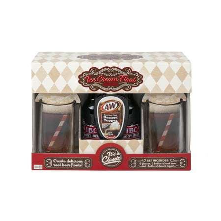 Ice Cream Float Soda Gift Set, 5 Pieces
