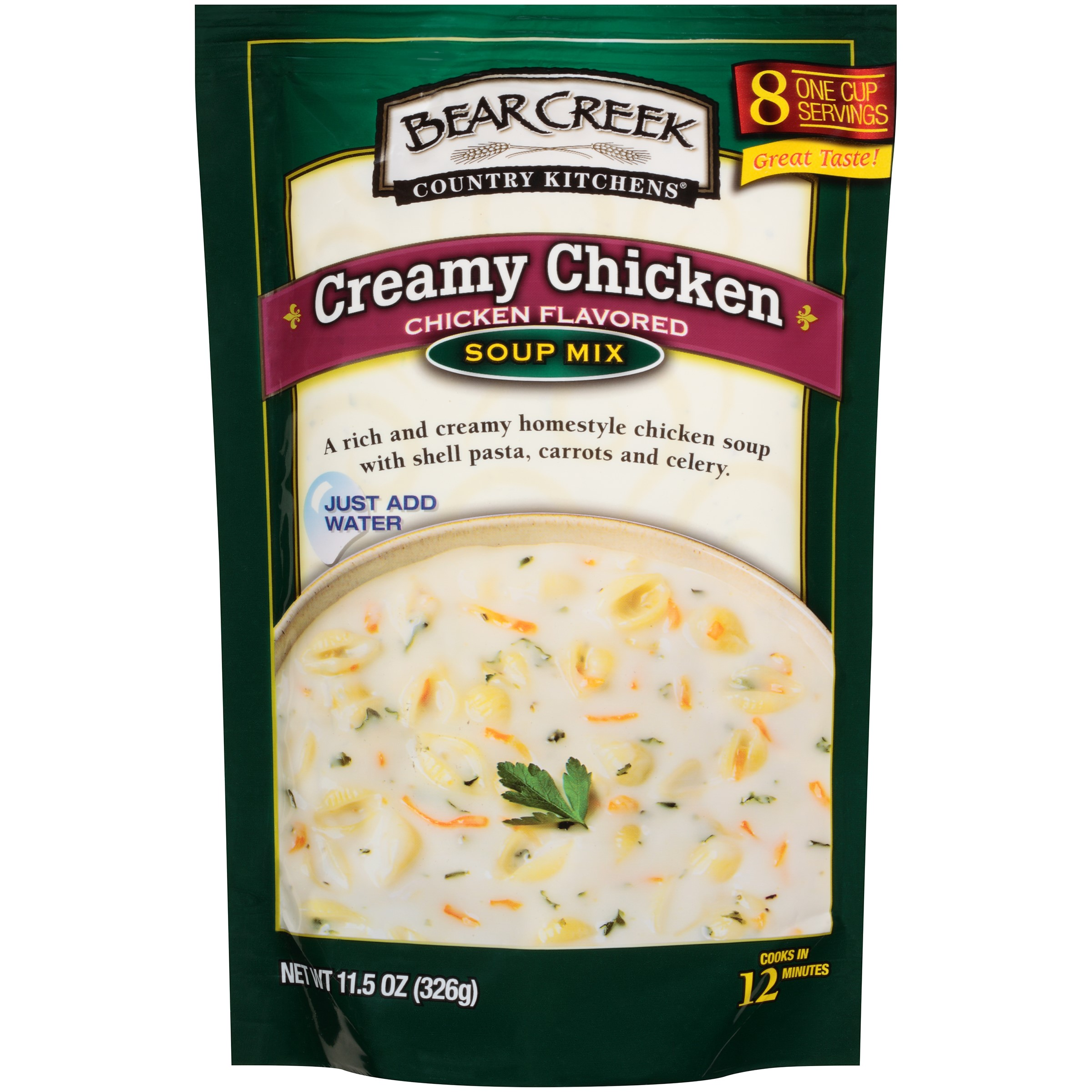 Bear Creek Country Kitchens Creamy Chicken Soup Mix 11.5 oz. Pouch by B&G