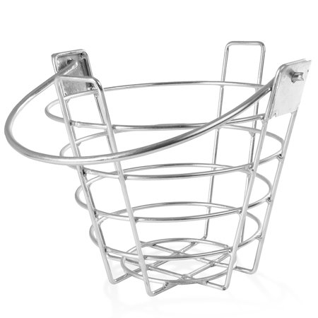 Crown Sporting Goods Golf Range Basket - Small Metal Ball Carrying Buckets, Holds 50 (Crown Basket)