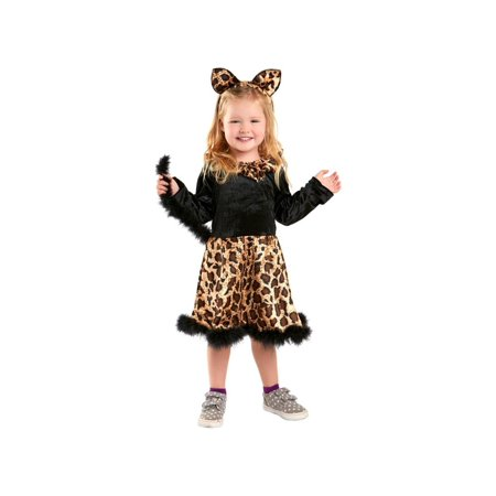 Baby Leopard Cat Dress Costume - Leopard Dress Costume