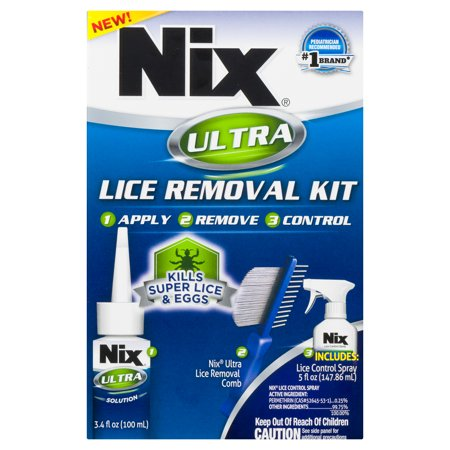 Nix Ultra Lice Removal Kit, Kills Super Lice &