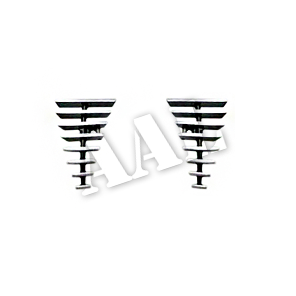 AAL BOLT ON / BOLT OVER BILLET GRILLE / GRILL INSERT For