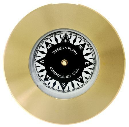 Weems & Plath Marine Navigation Compass Chart Weight (Brass)