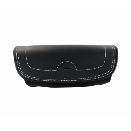 GENUINE LEATHER HANDLEBAR BAG BLACK BY INDIAN MOTORCYCLES 2879577-01
