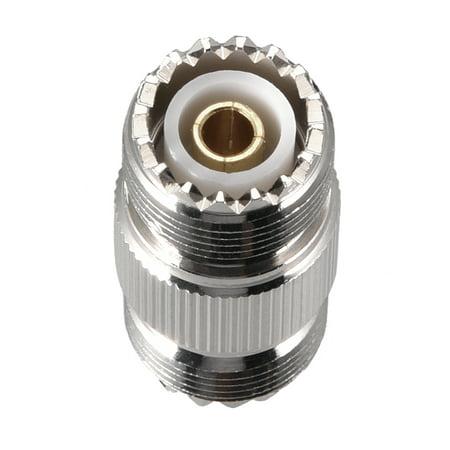 SL16 UHF Femelle à Femelle 5/8-24 Adaptateur Cable Coax Connecteur 2pcs - image 3 de 4