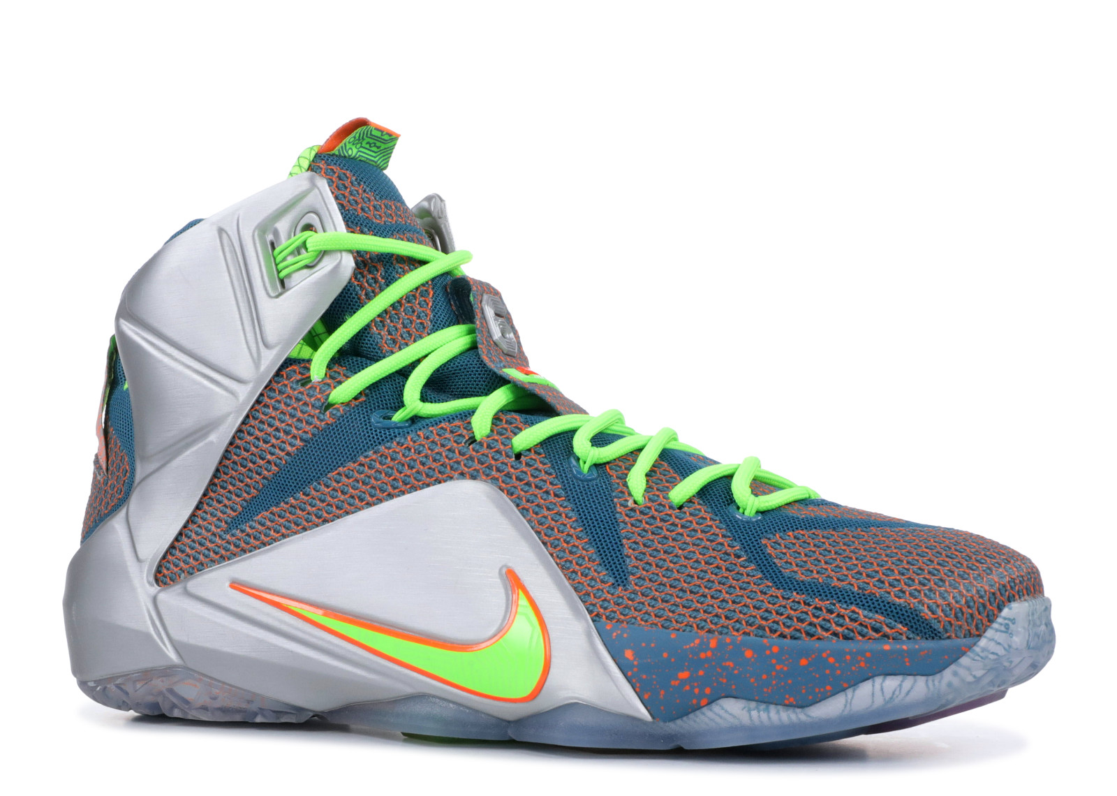 d6c42cf7cedf Nike - Men - Lebron 12 Prm  Trillion Dollar Man  - 705410-430 - Size 10