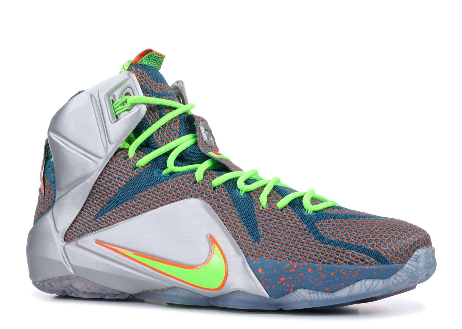 cd915bb694e31 Nike - Men - Lebron 12 Prm 'Trillion Dollar Man' - 705410-430 - Size 9