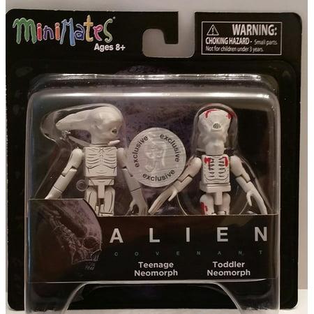 Minimates   Alien Covenant   Teenage Neomorph   Toddler Neomorph  Exclusive