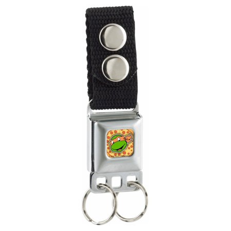 Teenage Mutant Ninja Turtles Michelangelo Seatbelt Keychain