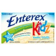Enterex Kidz Vanilla Nutritional Supplement for Children 1-13 Years, 8 fl oz, 6 count