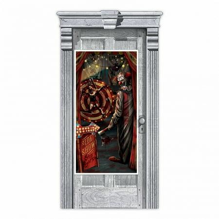 Creepy Carnival Sideshow Door Decoration