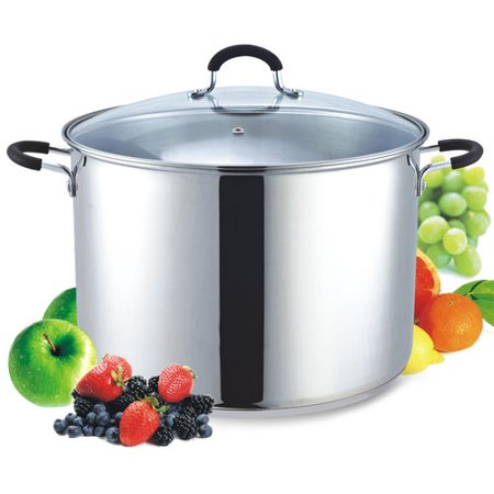 Cook N Home 20 Quart Stainless Steel Stockpot And Canning Pot With
